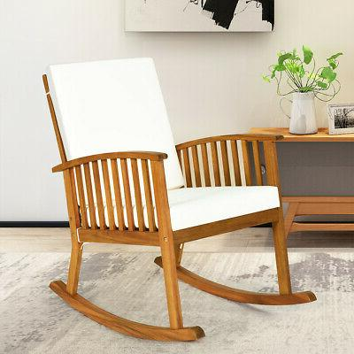 Natural Wood Chair with