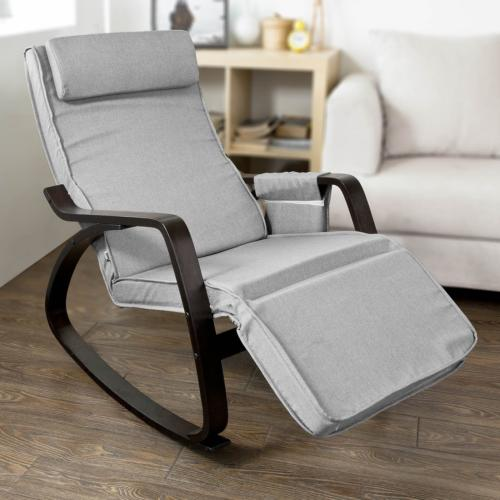 Haotian New Relax Rocking Chair Adjustable