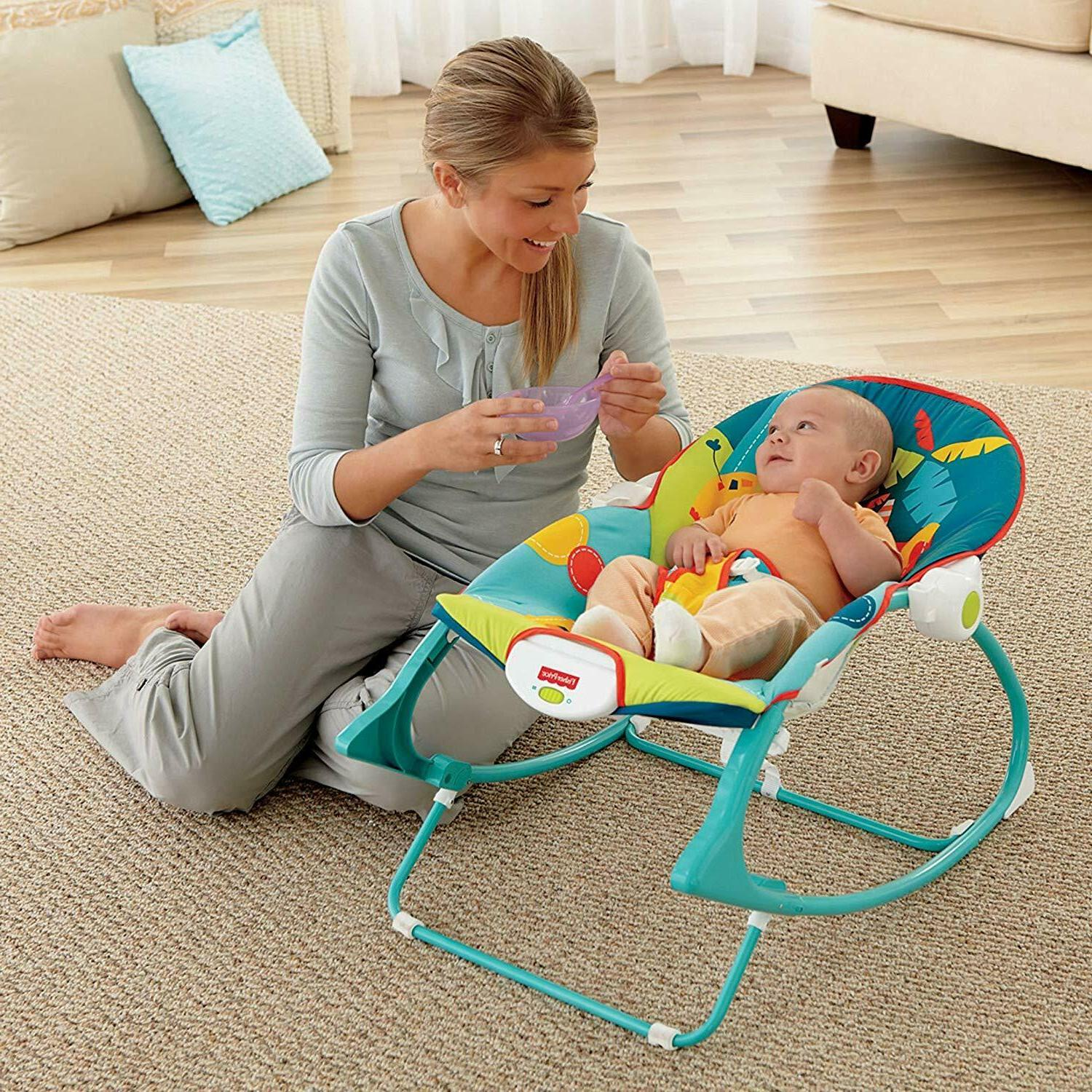 Baby Rocker Infant Swing Bouncer Boy Girl