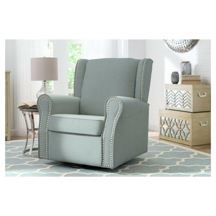 Nursery Baby Chair Swivel Rocker Furniture