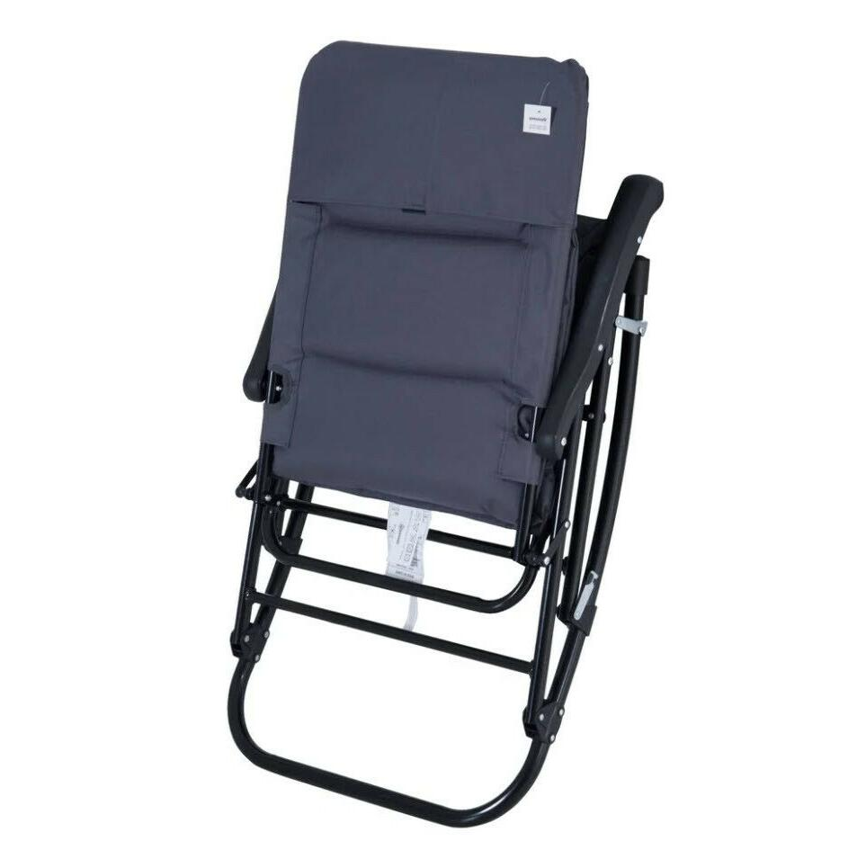 OUTDOOR CHAIR Padded Seat Blue 2
