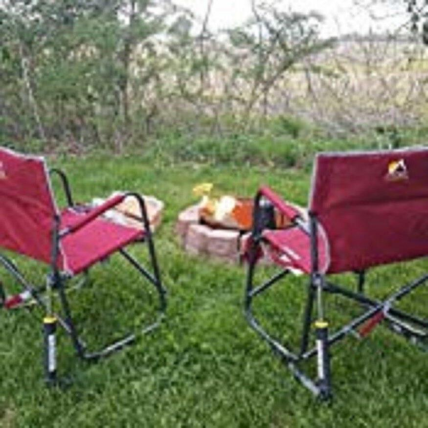 outdoor freestyle rocker cup holder portable folding