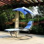Outdoor Patio Sun Canopy Hanging Rocking Shade Chair Chaise