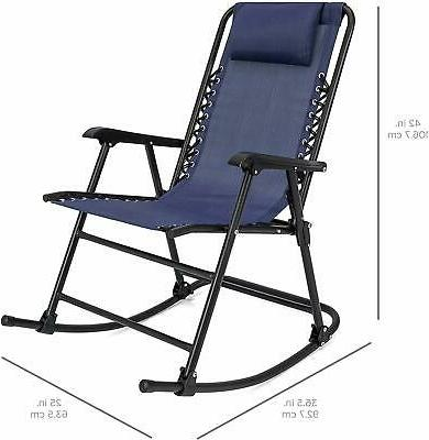 Outdoor Swimming Pool Foldable Recliner Chair -