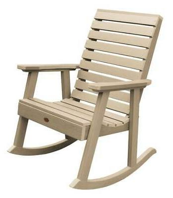 outdoor weatherly rocking chair id 3786589