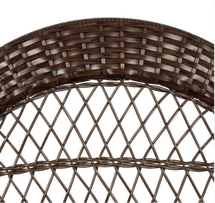Outdoor Wicker Rattan Patio W/
