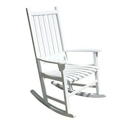 porch rocker rocking chair acacia