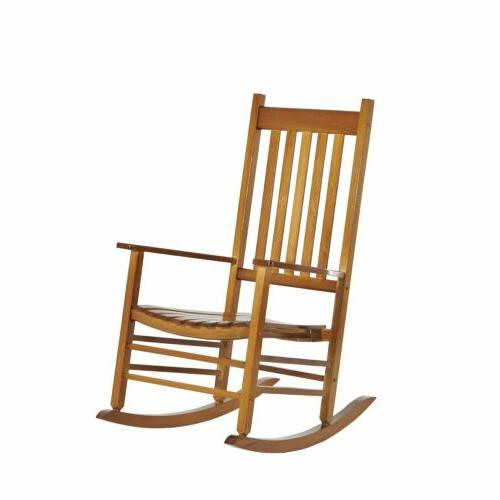 porch rocking chair solid wood home traditional