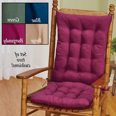 Quilted Rocking Chair Set,