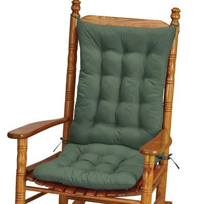 quilted rocking chair cushion set by