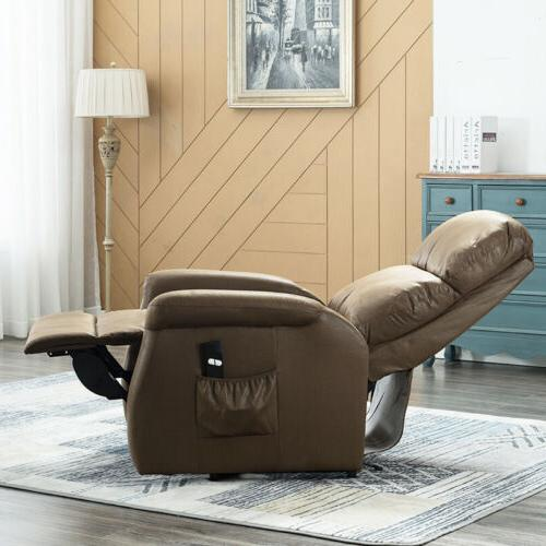 Recliner Leather Chair Sofa Padded