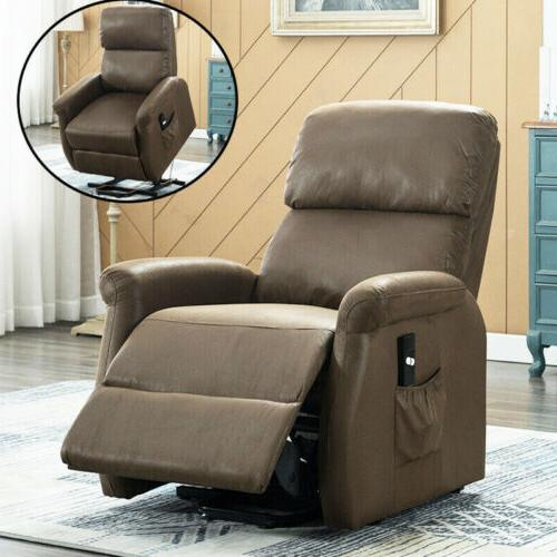 Recliner Chair Leather Modern Chair Sofa