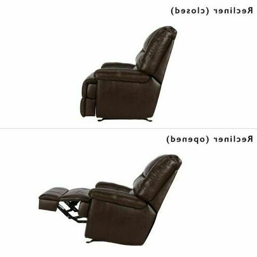 Recliner Rocking Chair Lounge Seat Living TV Storage