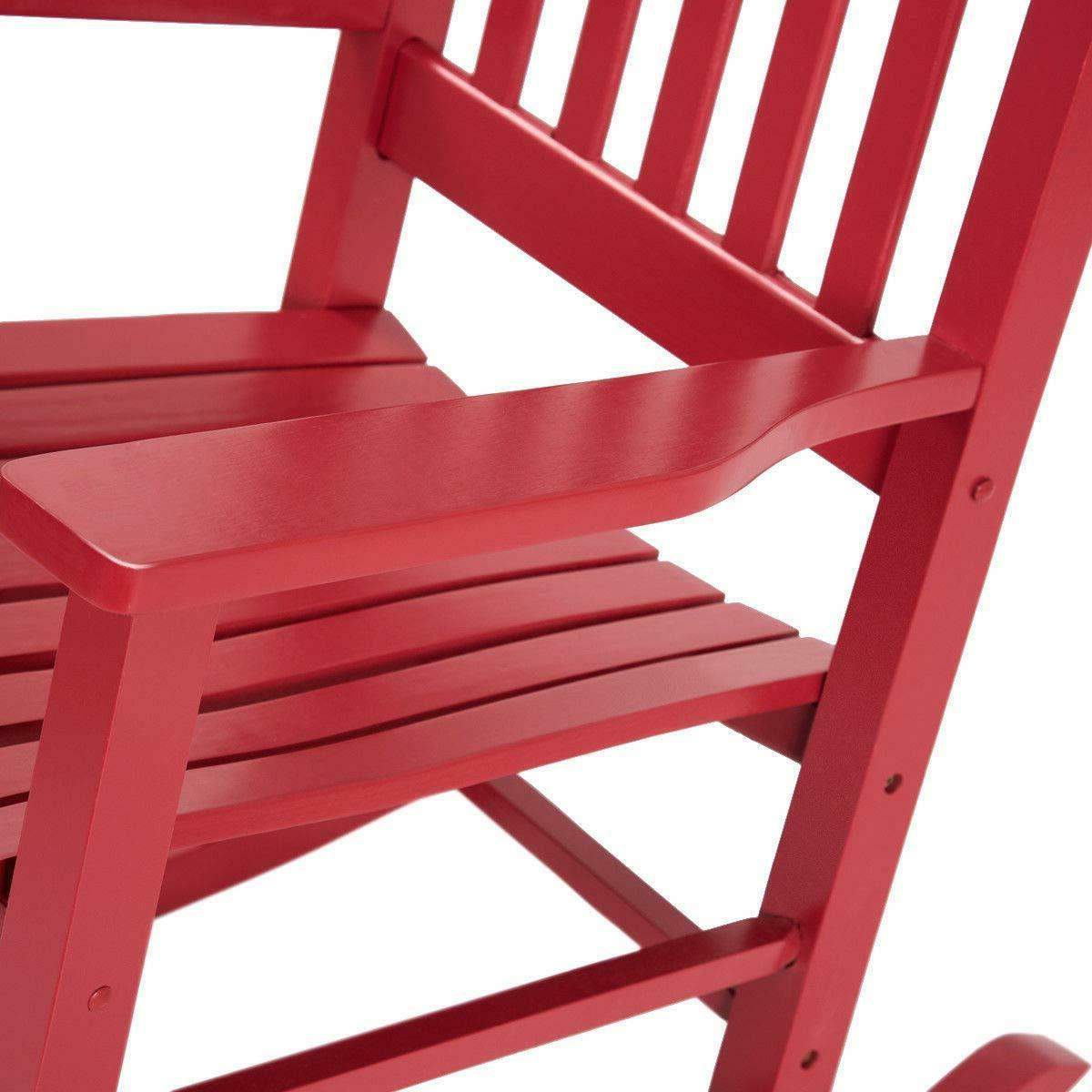 Red Knollwood Rocking Chair Child