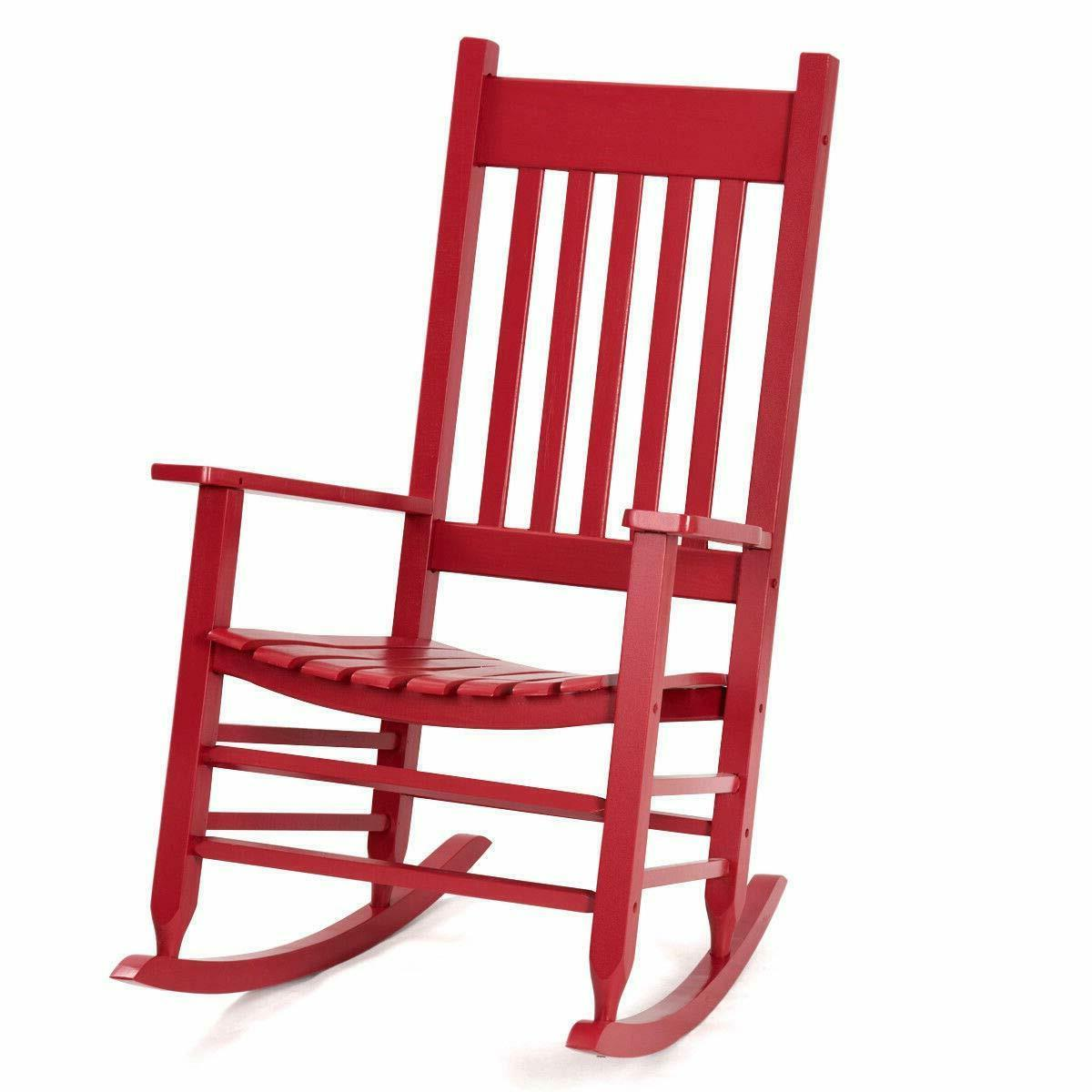 red wood knollwood kid s rocking chair