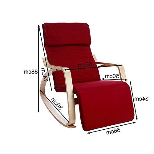 Haotian Comfortable Chair with Foot Rest Design, Lounge Recliners Poly-cotton
