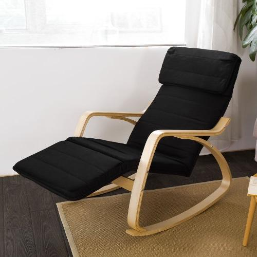 Haotian Relax Rocking Chair Rest Design, Chair, Poly-cotton Fabric Cushion