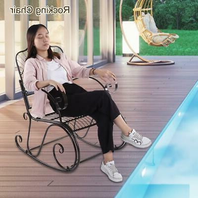 Relax Rocking Leisure Rocker Armchair Garden Furniture