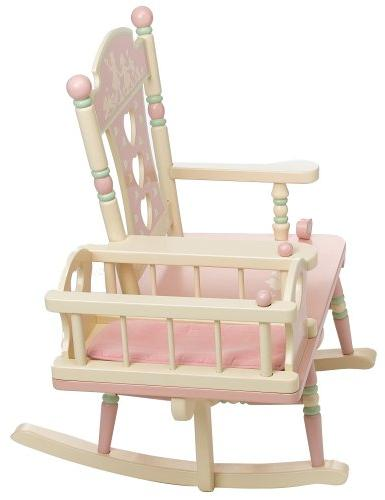 """Wildkin Rock-A-My-Baby Features and Classic Rocker Plays """"Rock-A-Bye Baby"""", Measures 23 x 29 Inches"""