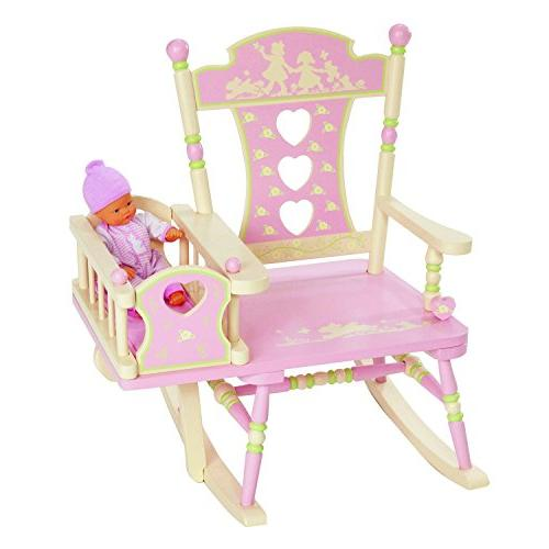 Wildkin Rock-A-My-Baby Chair, Features Attached Classic Plays 23 x 23.75