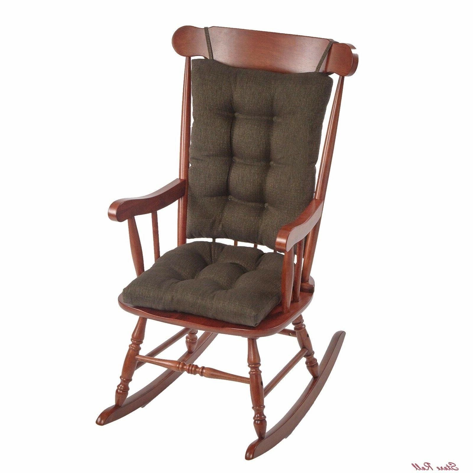 Rocking Chair Cushions For Living Room Adults Non Slip Gripp