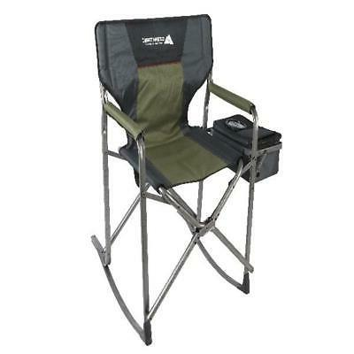 Rocking Chair Folding Portable Seat Hunting Camping Patio An