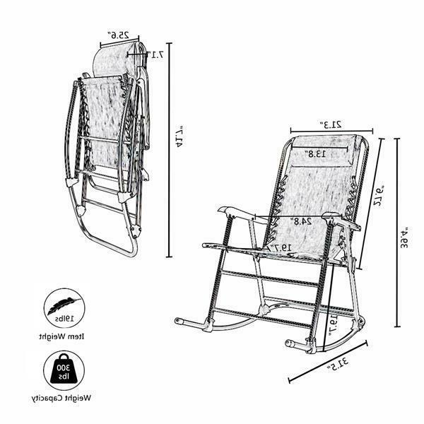 Rocking Leisure Chair for