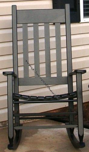 ROCKING CHAIR Paper Patterns BUILD FOR FRONT PORCH LIKE A EX