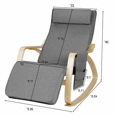 Adjustable Chair Living Room Bedroom Lounge Chair