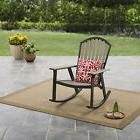 Rocking Chair Resin Adirondack Porch Glider Adult Arm Seat B
