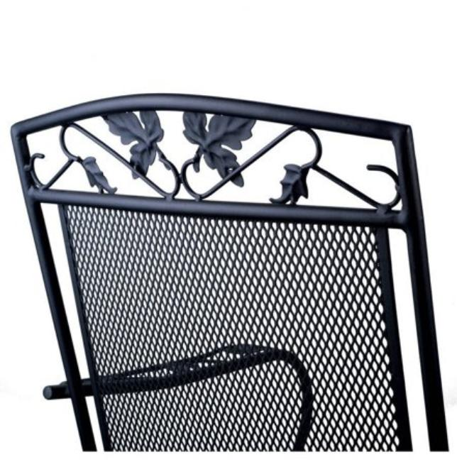 Rocking Iron Patio Front Extra Deck Furniture A+