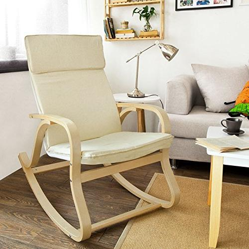 Haotian Comfortable Chair, Lounge Chair Relax Chair with Cushion