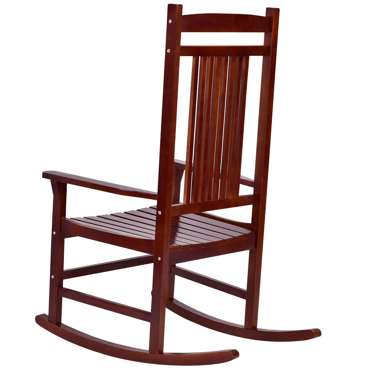 Solid Wood Porch Chair