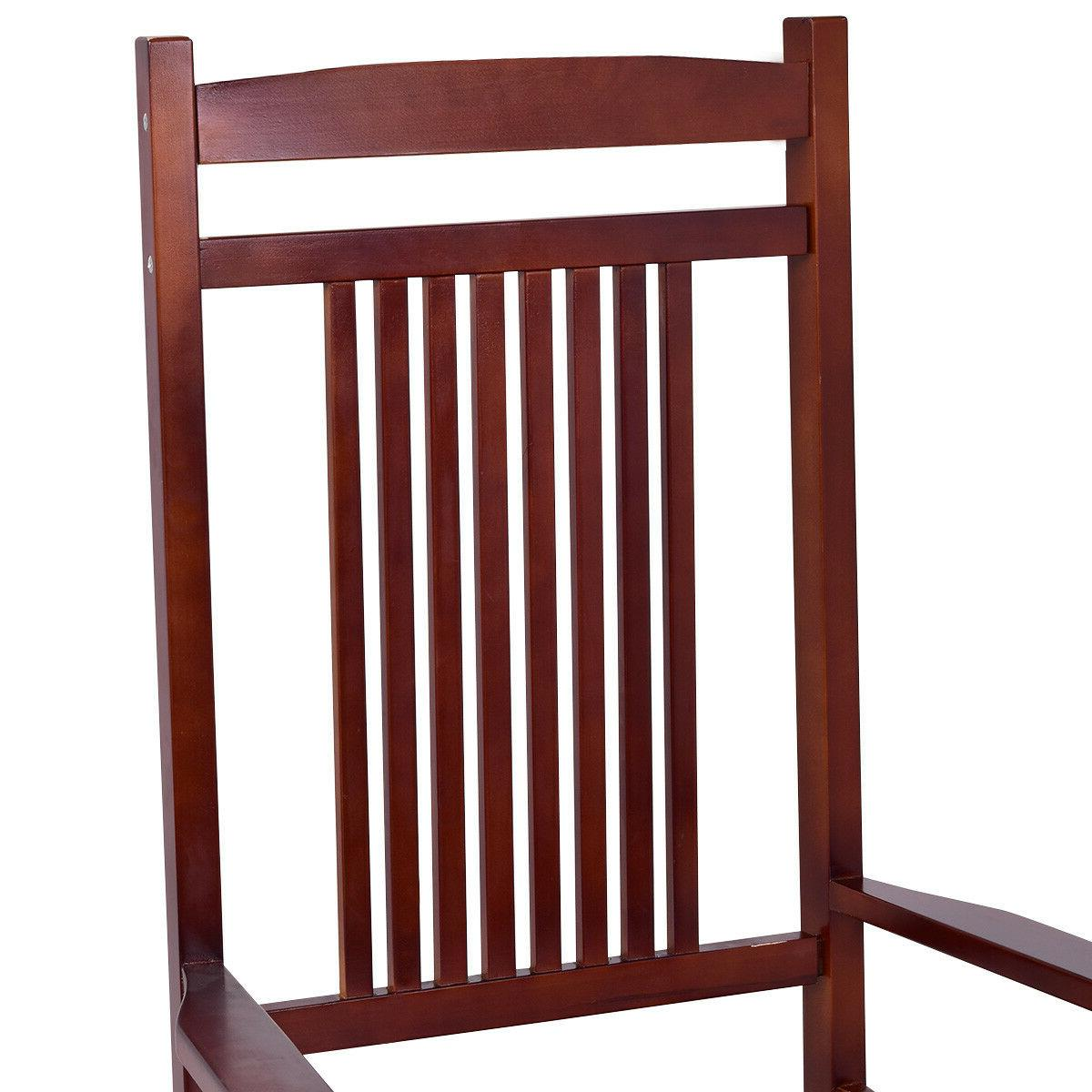 Solid Wood Porch Chair Patio Furniture