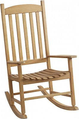 Solid Slat Chair Porch