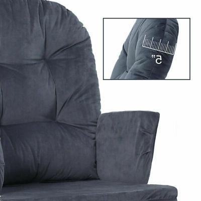 5pc Glider Chair & Nursery Replacement Cushions