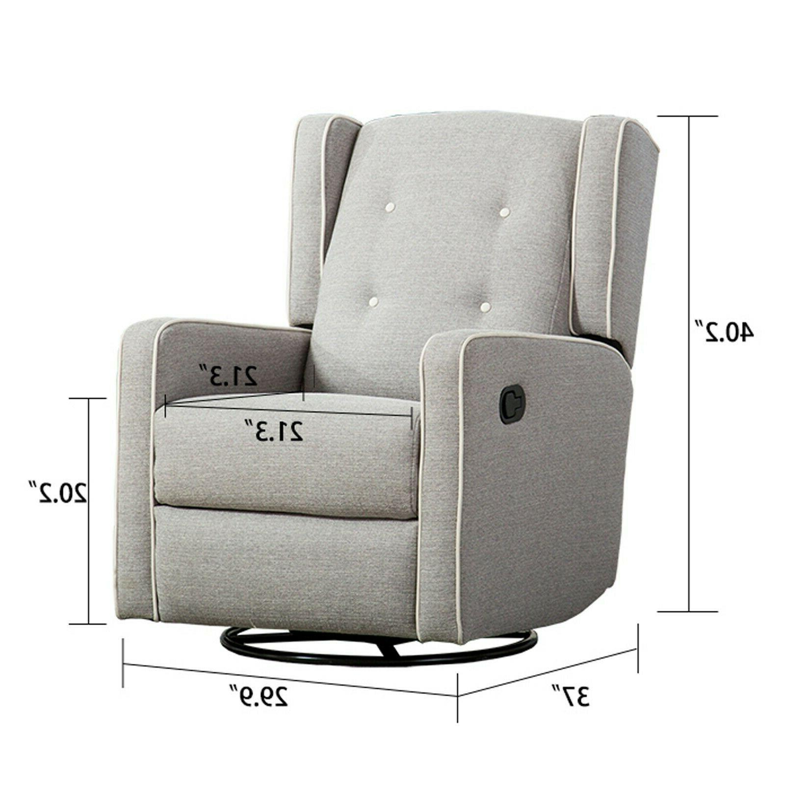 Swivel Rocking Lounge Sofa Room