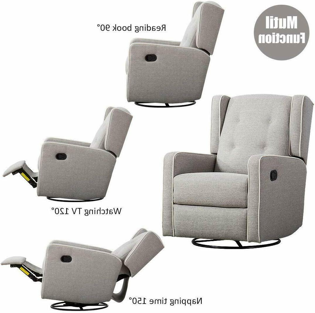Swivel Rocking Lounge
