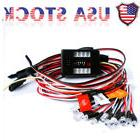 US LED Light Kit Brake+Headlight+Signal 2.4ghz PPM FM For HS