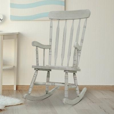 Vintage Style Chair Furniture Rocker