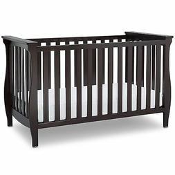 Delta Children Lancaster 3-in-1 Convertible Baby Crib, Dark