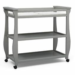 Delta Children Lancaster Changing Table, Grey