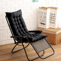 Long Lounger Bench back <font><b>Chair</b></font> Cushion <f