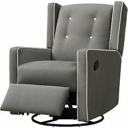 Baby Relax Mikayla Swivel Gliding Recliner, Choose Your Colo