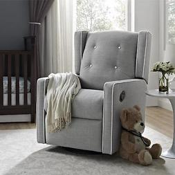 Baby-Relax Baby Relax Mikayla Swivel Gliding Recliner Gray M