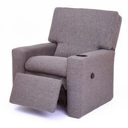 Modern Kids Recliner with USB Charger Cupholder Furniture Ta