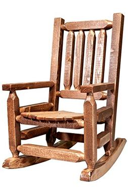Montana Woodworks MWHCKRSSLAZ Child's Chair, Stain and Lacqu