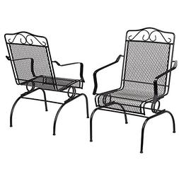 Nantucket Rocking Metal Outdoor Dining Chair