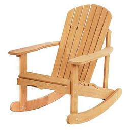 New Garden Rocking Rest Adirondack Wood Chair,Furniture Lawn