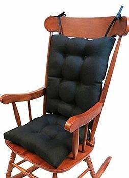 The Gripper Non-Slip Omega Jumbo Rocking Chair Cushions, Mid